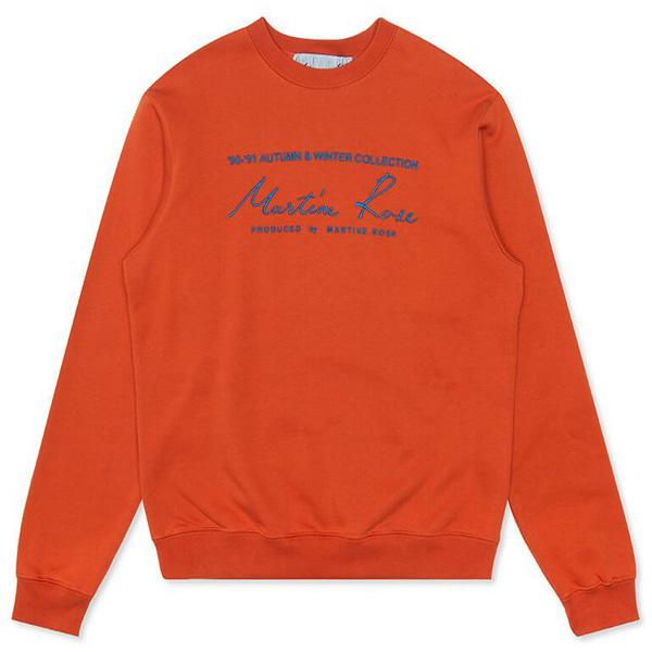 Martine Rose Classic Crew - Orange