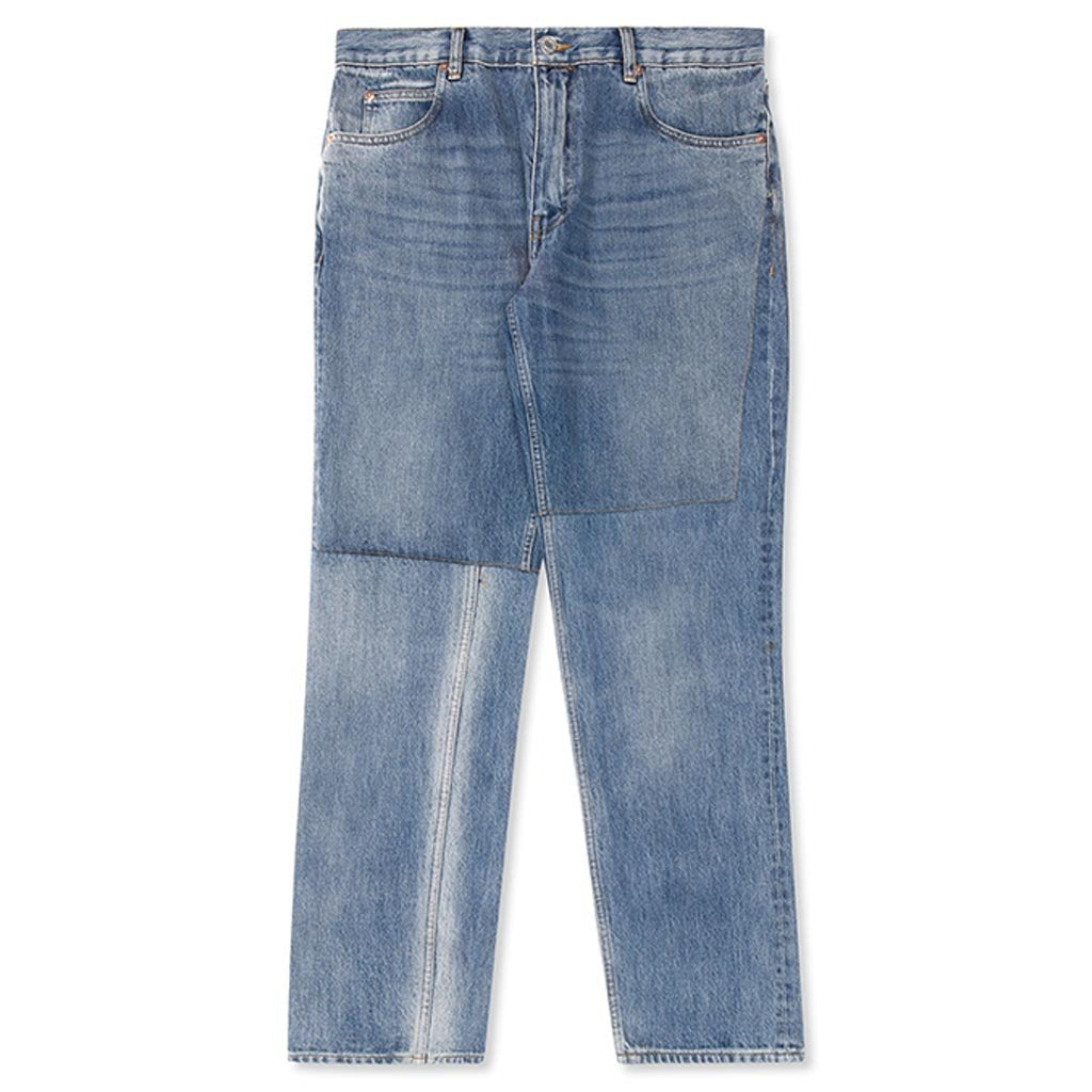 Martine Rose Two Piece Jean - Blue