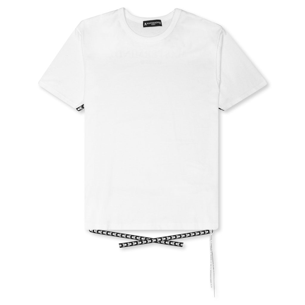 Mastermind World Allover Logo T-Shirt - White