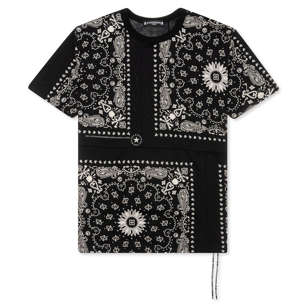 Mastermind World Bandana T-Shirt - Black