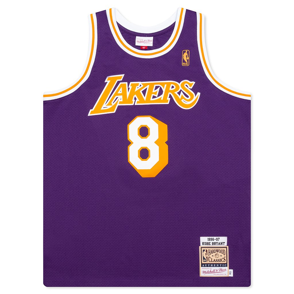 Mitchell & Ness NBA Authentic Jersey Los Angeles Lakers Road 1996 ...