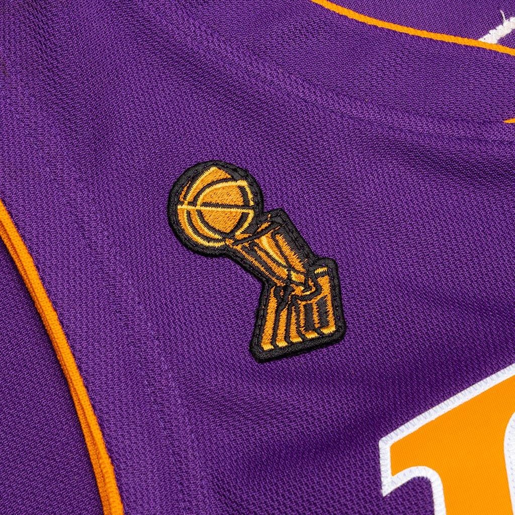 Mitchell & Ness NBA Authentic Jersey Los Angeles Lakers Road ...