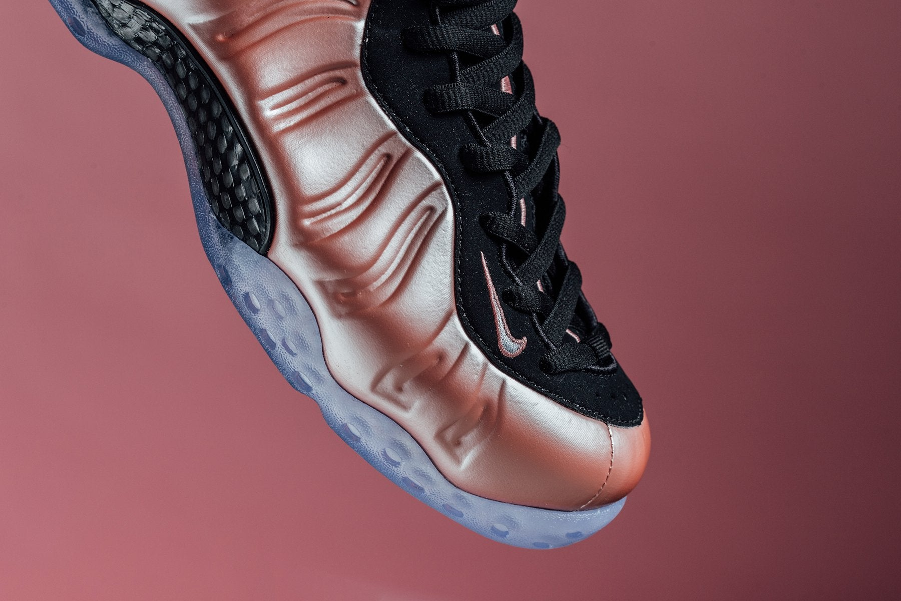 Nike Air Foamposite One Elemental Rose Rust Pink Shoes ...