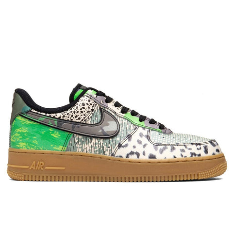 "Nike Air Force 1 '07 ""City of Dreams"" - Black/Green Spark"