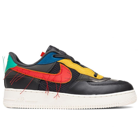 Nike Air Force 1 Low BHM - Dark Smoke Grey/Track Red