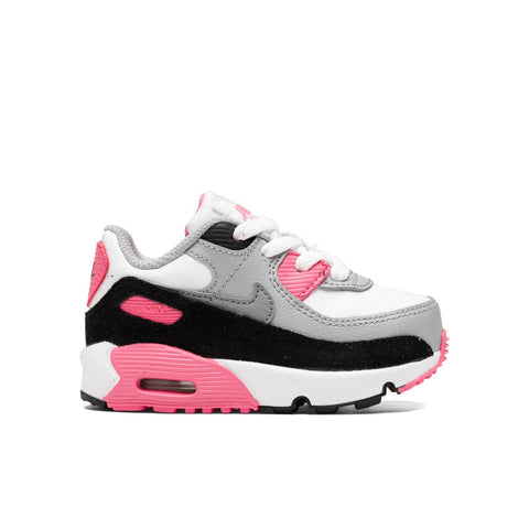 Nike Air Max 90 LTR (TD) - White/Light Smoke Grey/Rose