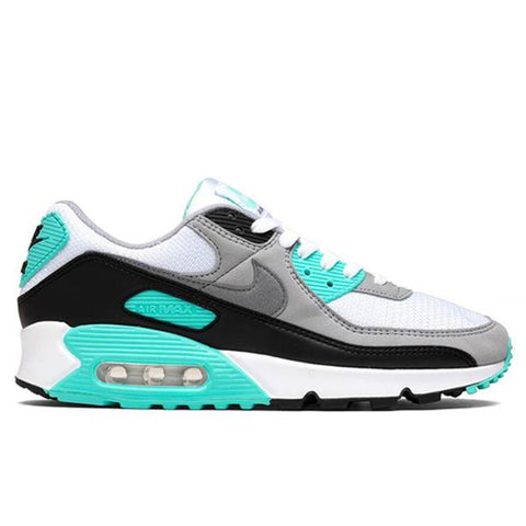 Nike Air Max 90 - White/Particle Grey/Hypher Turq/Black