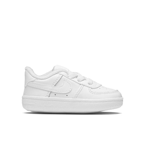 Nike Force 1 Crib - White/White/White