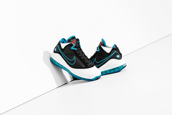 Nike Lebron VII GS 'Red Carpet' - White/Black/Glass Blue
