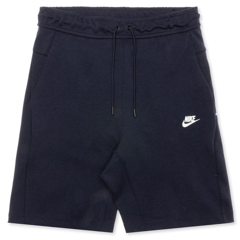 Nike Sportswear Tech Fleece Shorts - Obsidian/White