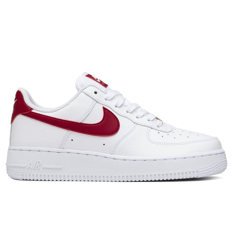 Nike Women's Air Force 1 '07 - White/Noble Red/White