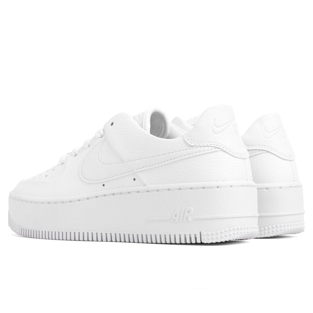 Nike Women's Air Force 1 Sage Low - White/White
