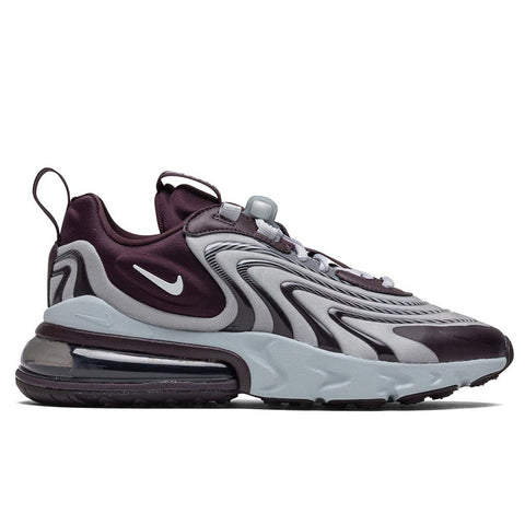 Nike Women's Air Max 270 React ENG - Burgundy Ash/Light Smoke Grey