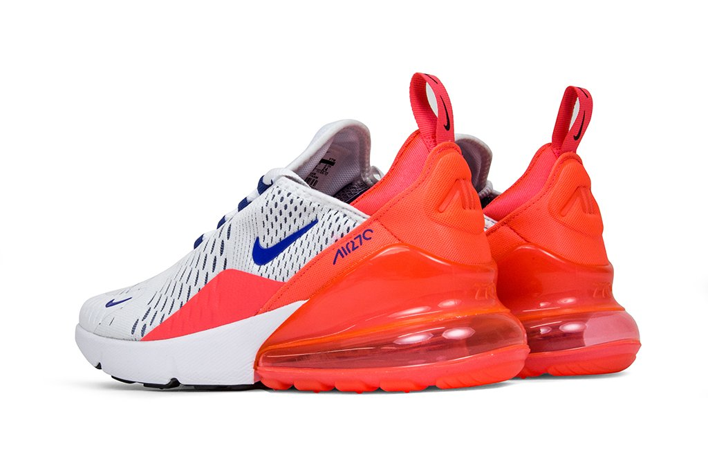 White And Red Nike Air Max 270 Feature