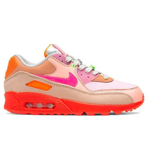 Nike Women's Air Max 90 - Bright Crimson/Pure Platinum