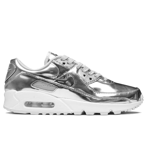 Nike Women's Air Max 90 SP - Chrome/Pure Platinum/White