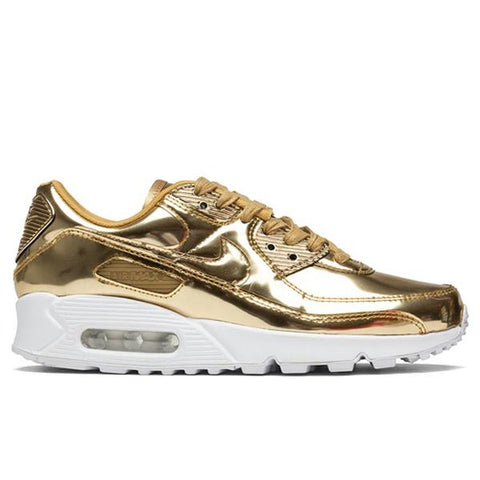 Nike Women's Air Max 90 SP - Metallic Gold/Club Gold