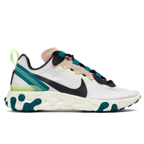 Nike Women's React Element 55 - Fossil Stone/Dark Smoke Grey