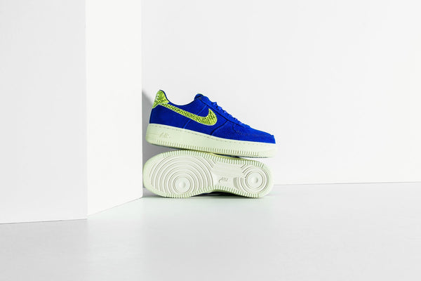 Nike x Olivia Kim Women's Air Force 1 '07 NXN - Hyper Blue/Volt/Sail