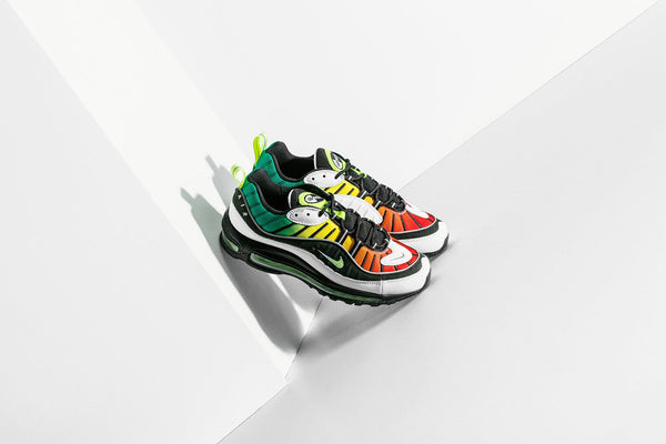 Nike x Olivia Kim Women's Air Max 98 NXN - Black/Volt/White/Dynamic Yellow