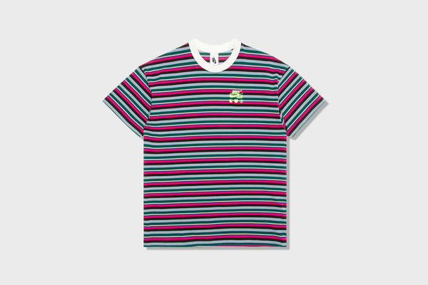 Nike x Olivia Kim Women's Striped T-Shirt - Bright Ceramic