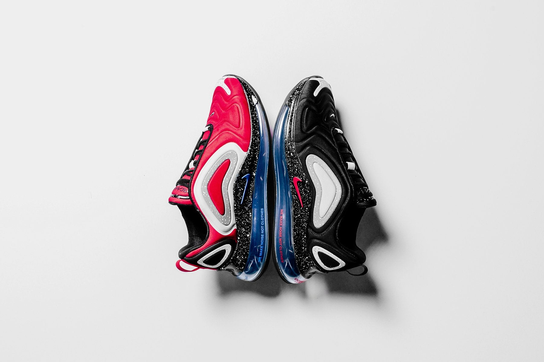 Nike X Undercover Air Max 720 University Red Blue Jay Feature