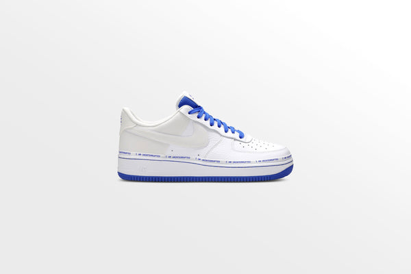 Nike x Uninterrupted Air Force 1 '07 MTAA QS - White/Lapis