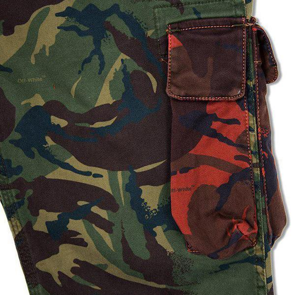 Off-White c/o Virgil Abloh Camo Chino Work Pant - Camouflage