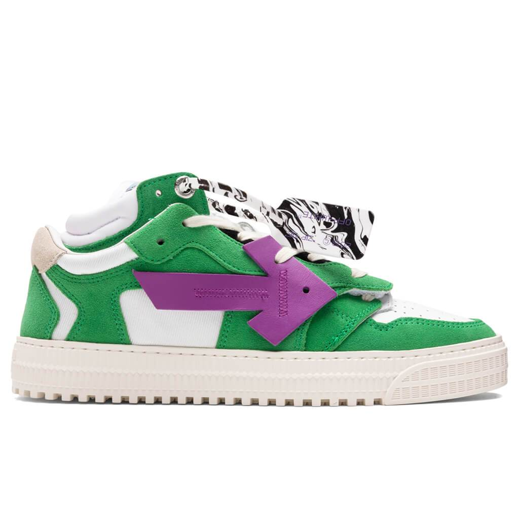 Off-White c/o Virgil Abloh Off Court Low - Green/Purple