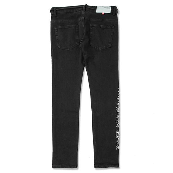 Off-White c/o Virgil Abloh Skinny Regular Length - Black/White