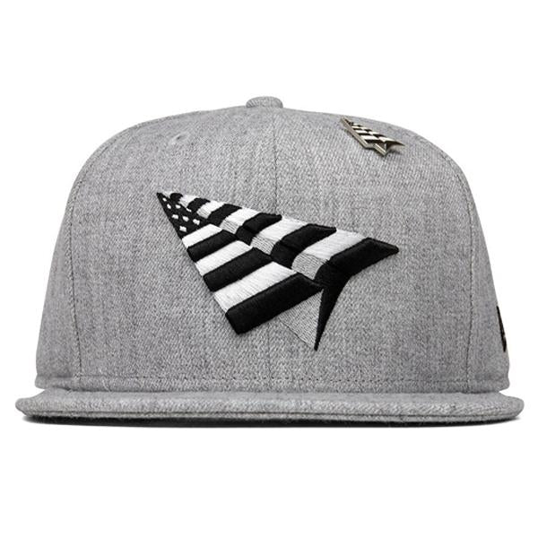 Paper Planes The Crown Grey Boy 59 Fifty Fitted - Heather Grey
