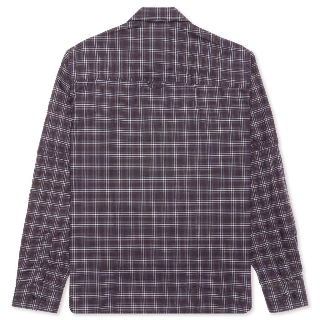 Rassvet Shirt Zip Off Sleeve - Grey