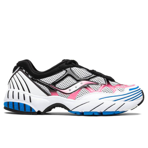 Saucony Grid Web - White/Pink/Blue