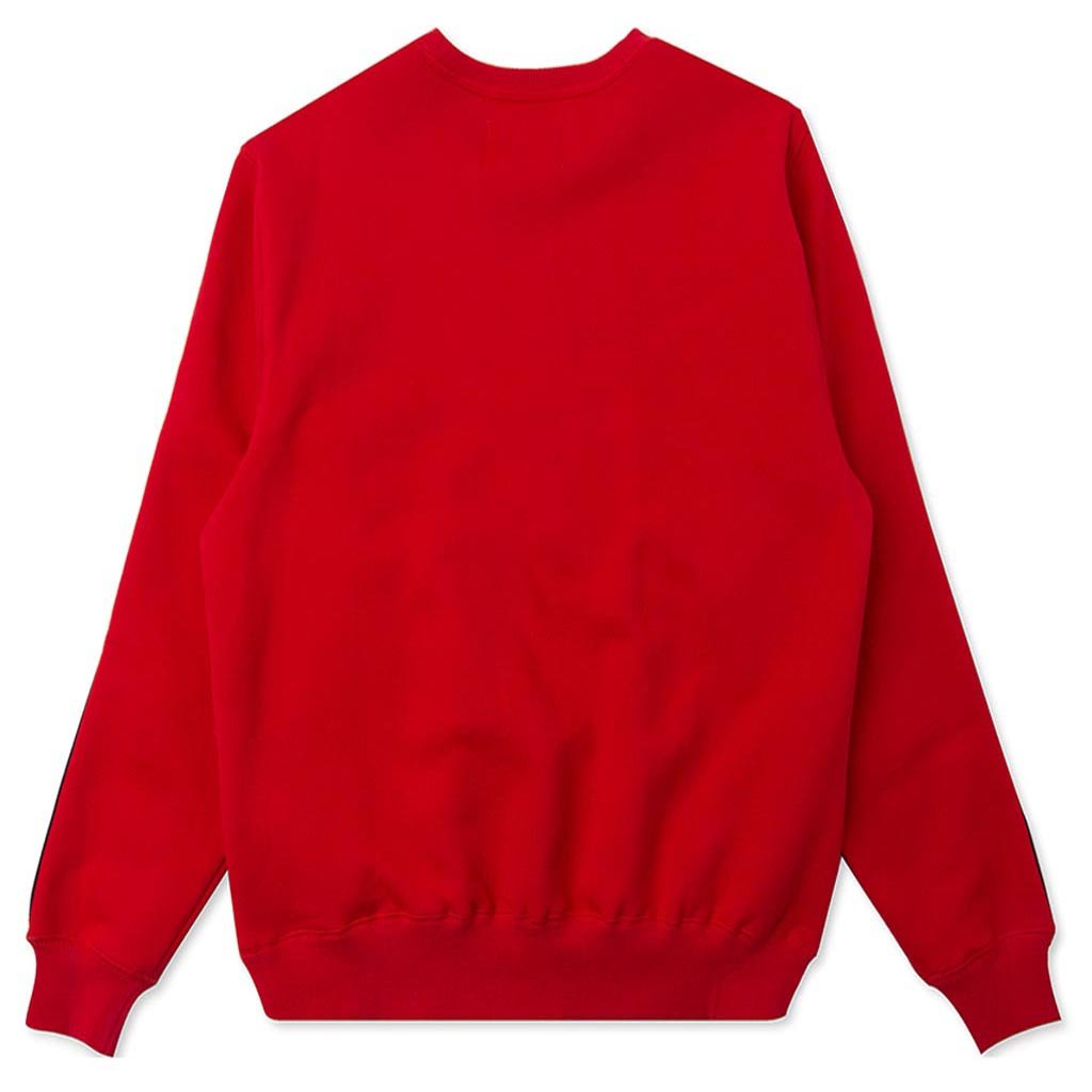 Stampd Operation Pullover Crewneck - Red