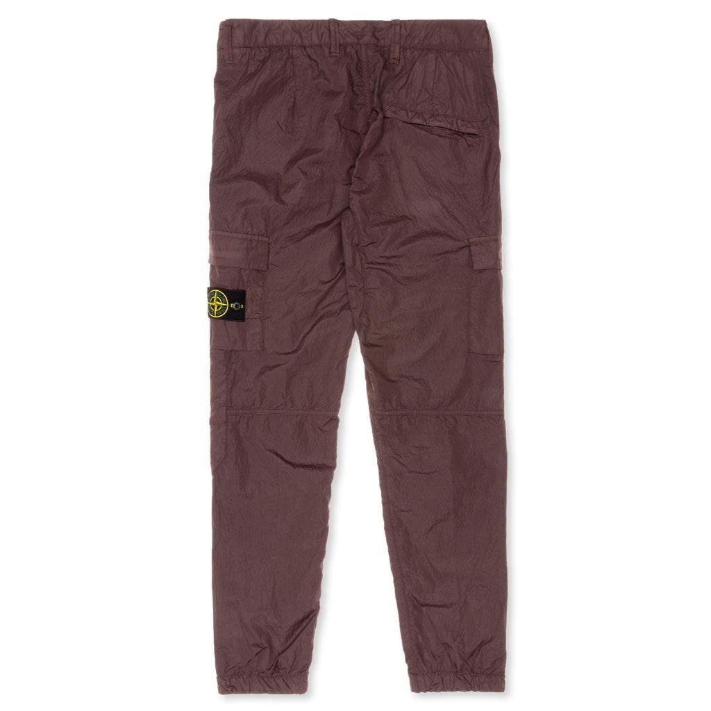 Stone Island Seersucker-TC Cargo Pants - Mahogany Brown