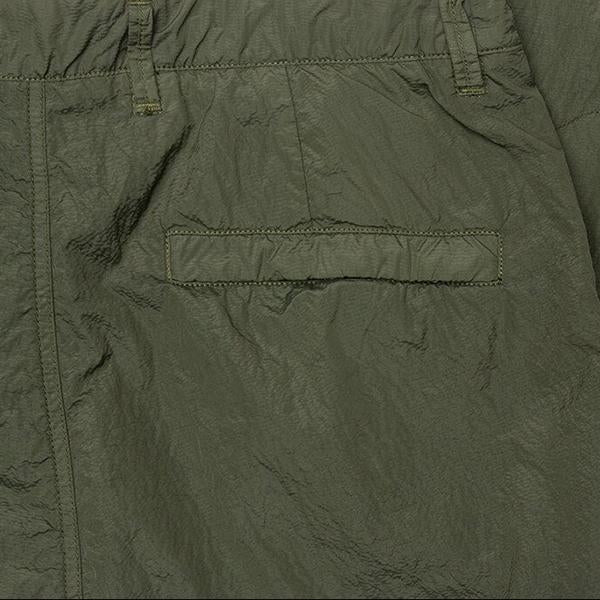 Stone Island Seersucker Tc Cargo Pants Olive Green Feature
