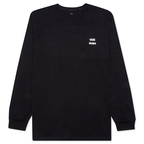 Vans x MoMA Branded L/S T-Shirt - Black