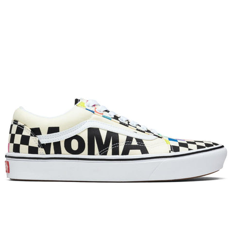 Vans x MoMA ComfyCush Old Skool - White/Multi