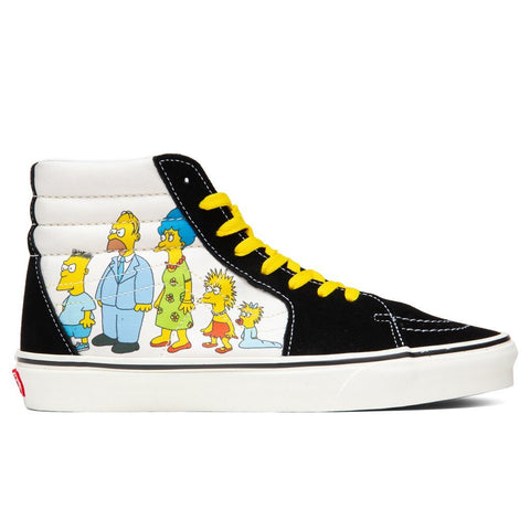 Vans x The Simpsons Sk8-Hi - 1987-2020
