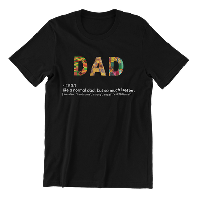 Dad Definition Kente T-Shirt
