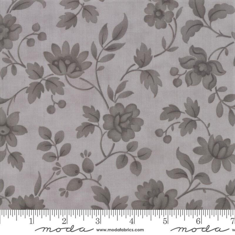 "108"" Daybreak Wide Cotton Sateen Quilt Backing by 3 Sisters Silver"