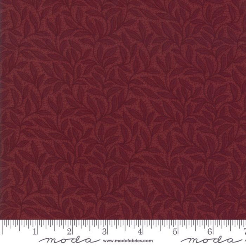 108in Sweet Holly Wide Quilt Back - Red
