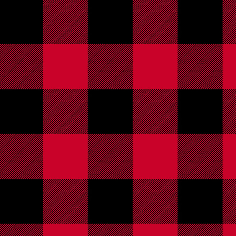 "108"" Dad Plaid Wide Quilt Back - Buffalo"