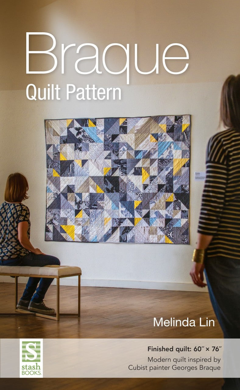 Braque Quilt Pattern by Melinda Lin - 60in x 76in