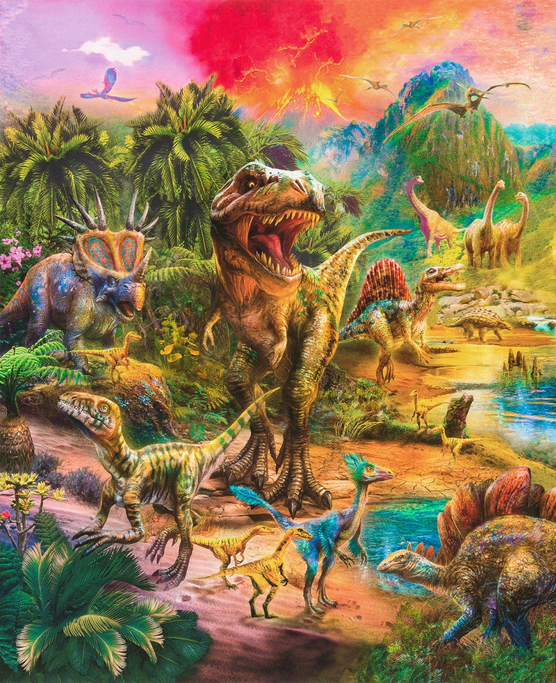 87in x 108in Picture This Dinosaur Panel