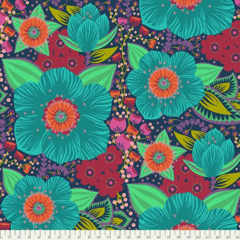 "108"" Hindsight Honorable Mention Wide Quilt Back by Anna Maria Horner Turquoise"