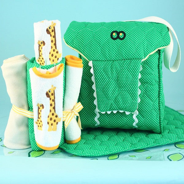 Alligator Diaper Tote Bag