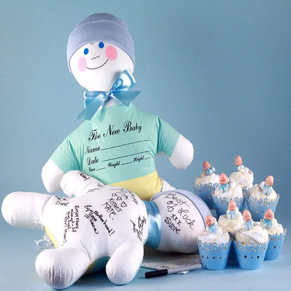 Autograph Doll and Favor Cupcakes