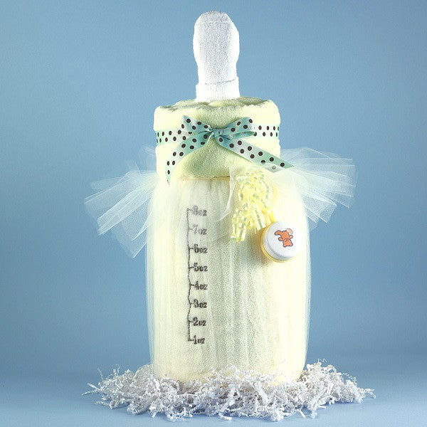 Baby Bottle Blankie - Welcoming Home Baby  - 3