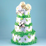 Birds and Bees Diaper Cake - Welcoming Home Baby